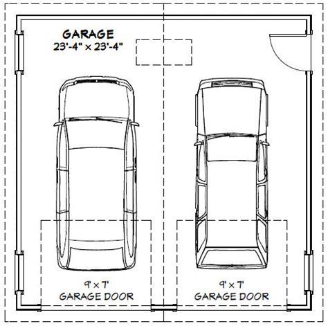 standard 2 car garage size proper measure for standard 2 car garage size dimensions