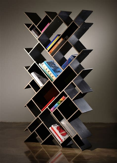 cool bookcase marvelous cubed wooden book shelves with interesting shape design ideas interior design