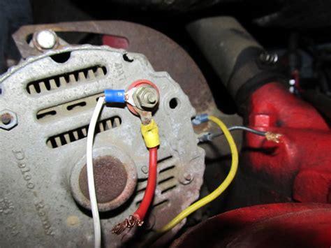 wire alternator yesterdays tractors