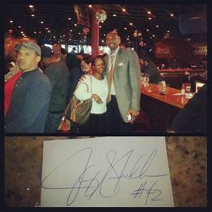 Jerry Stackhouse...nice guy! Great atmosphere! - Yelp