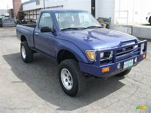 1995 Custom Purple Toyota Tacoma Regular Cab 4x4 #51575963 ...