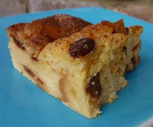 making an easy peasy bread and butter pudding | Nip it in ...