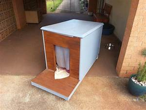 Husky dog house plans for Diy outdoor dog house