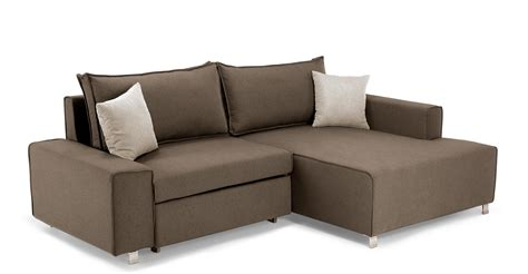 394 futon sofa beds mayne right facing corner sofa bed grouse brown