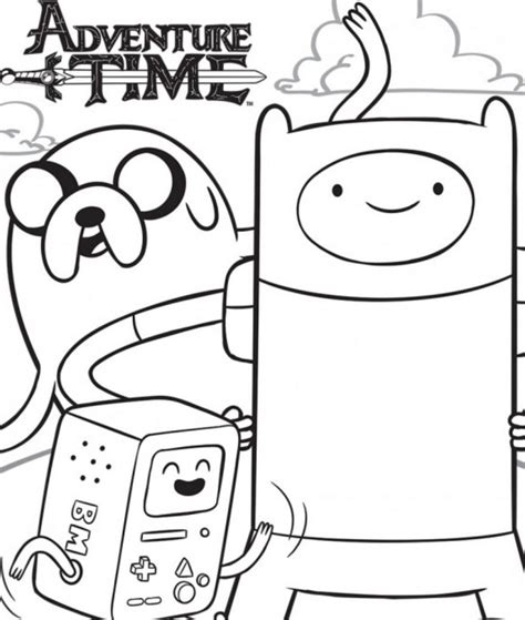 color book adventure time coloring pages best coloring pages for