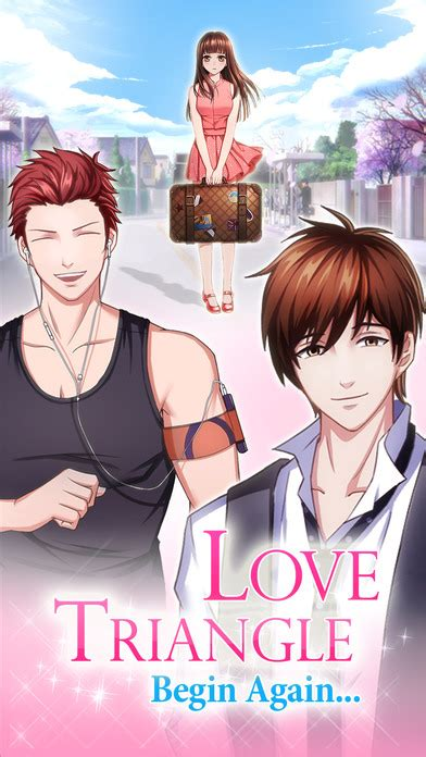 otome game love triangle dating story  girls