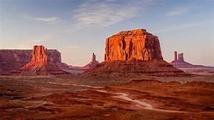 Beautiful Hd Wallpaper Desert Barren Area With Red ...