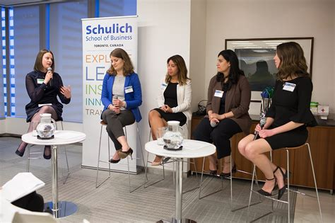women  business  share career insights schulich