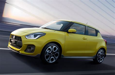 New Suzuki Swift Sport Arrives In Australia Q1 2018