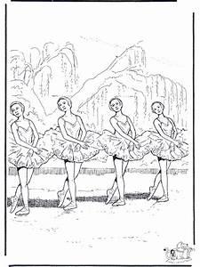 Ballett 2 Malvorlagen Ballett