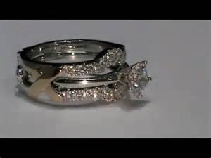 wedding ring wraps 18k white gold custom design wedding ring enhancer