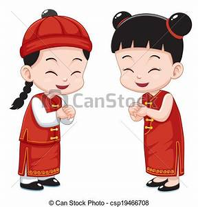 China clipart chinese boy - Pencil and in color china ...