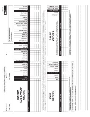 publix catering fill  printable fillable blank