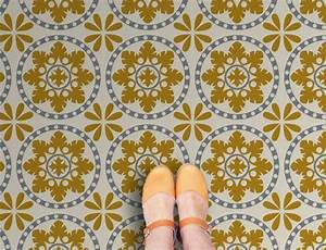 why moroccan tile print vinyl flooring is so right love With zazous flooring