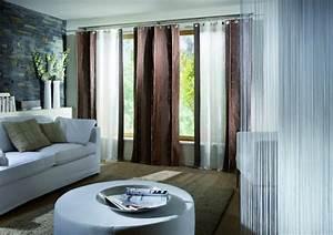 Vorhänge Modern Wohnzimmer : die passenden gardinen und vorh nge schm cken die fenster 35 dekoideen ~ Markanthonyermac.com Haus und Dekorationen