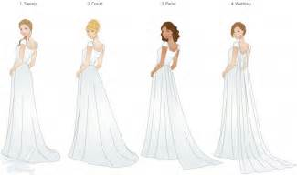 different types of wedding dresses wedding trains guide to style type and length lds wedding planner