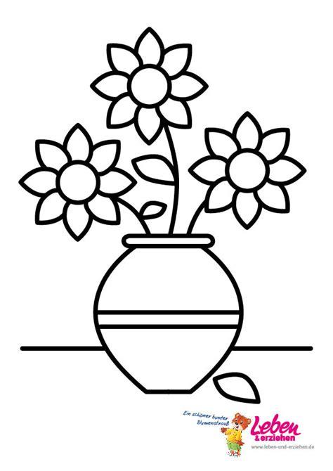 lemalvorlagenblumenvase