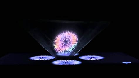 hologram video holographic pyramid youtube