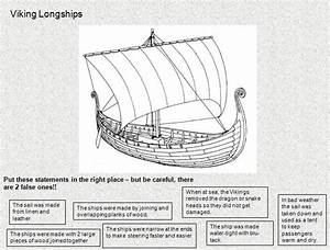 Viking Longboat Worksheet