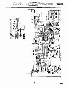 Parts For Frigidaire Frs24zsfb0  Wiring Diagram Parts