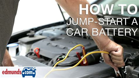 How To Jump-start A Car Battery