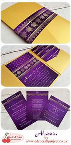 the disney inspired aladdin pocketfold wedding invitation With disney destination wedding invitations