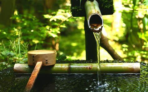 bamboo water fountain 711952 walldevil
