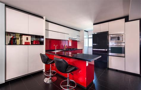 10 ways to inject bold colours into your kitchen   Home