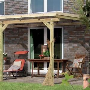 toit de terrasse bois massif autoclave karibu 244x240cm With toit de terrasse en bois