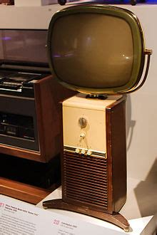 what year did the color tv come out predicta