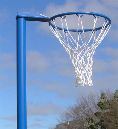 regulation basketball hoop size indoor fixed height netball post wheel away base