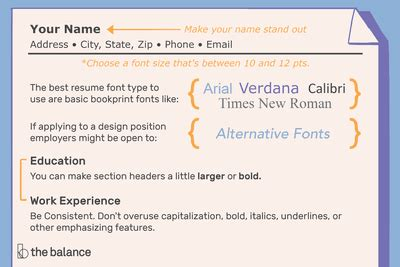 Standard Font Size And Style For Resume by How Many Pages A Resume Should Be