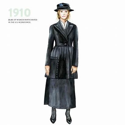 Suits History Feminist Workforce Workwear 1910 Womens