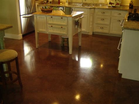 elegant acid stained concrete floors direct colors