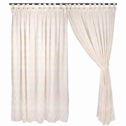 Curtain Curtains Ready Miko Peach Sheer Layer