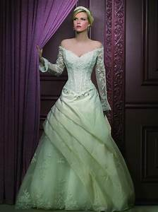 Embracing trendy green wedding dresses pictures ideas for Green wedding dresses