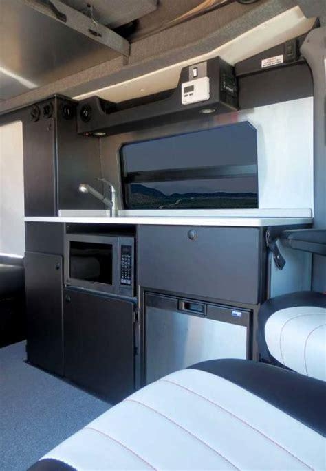 sprinter rb  conversion van penthouse top cabinets