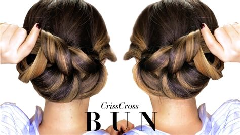 Hair Style Updo Easy 3 Minute Elegant Bun Hairstyle Every Girl Doesn T Already