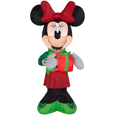 awesome christmas inflatable minnie mouse disney