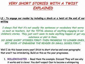 KS2 WRITING - V... Short Stories