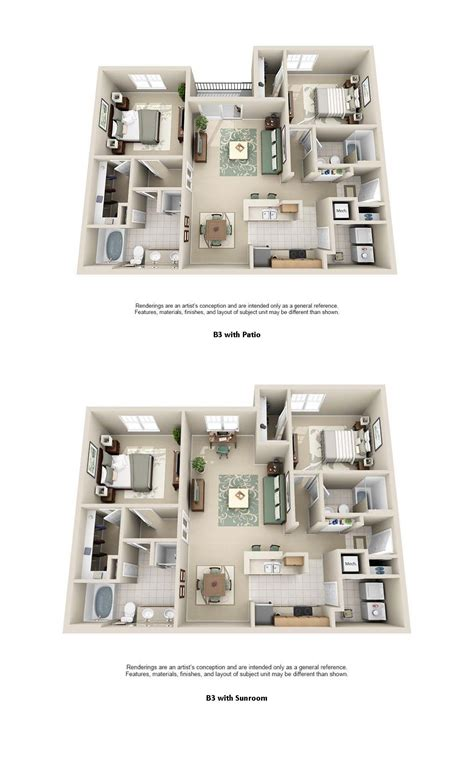 Luxury Apartment Plans by 1 2 3 Bedroom Apartments Estancia Luxury Apartments