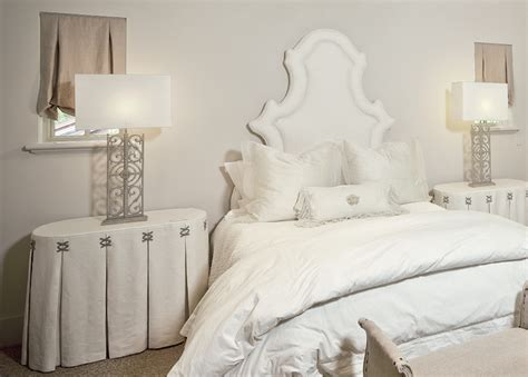Bedroom Table Skirts by Skirted Bedside Table Bedroom The Owen