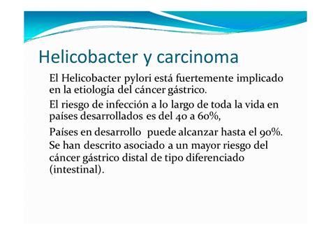 h pylori y el cancer c 225 ncer g 225 strico monografias