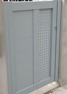 Fermeture De Portail Electrique : comment choisir un portillon en aluminium le portail alu ~ Edinachiropracticcenter.com Idées de Décoration