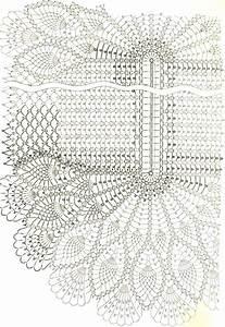 Beautiful Oval Pineapple Doily Crochet Pattern  Ufe0f