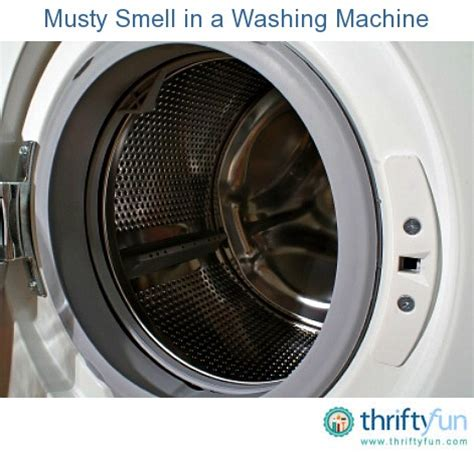 washing machine how to clean a smelly washing machine