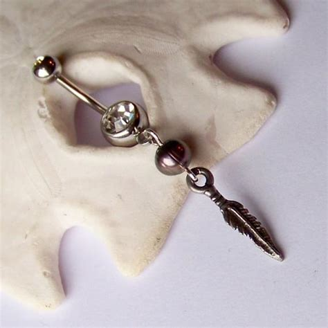 items similar  belly button ring belly button jewelry