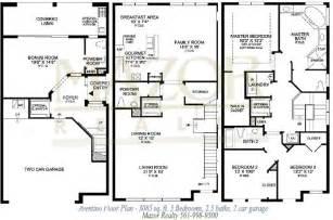 house plan designs 3 storey w roofdeck story house - Bi Level Floor Plans