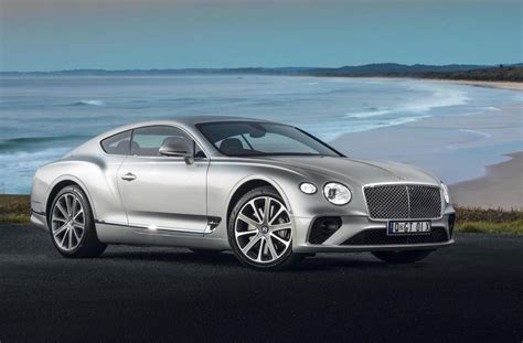 bentley continental gt launches  australia