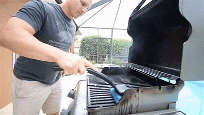 Grill Rescue Cleaning Clean Backyard Brush Easy